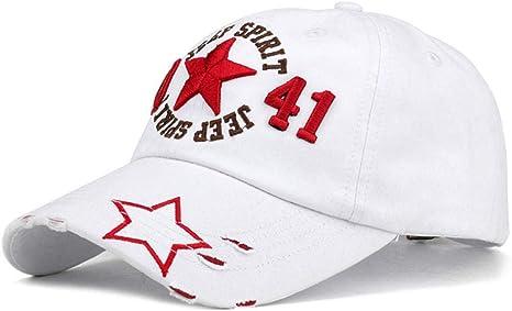 Baseball Cap Retro Washed Baseball Fitted Cap Snapback Hat For Men ...