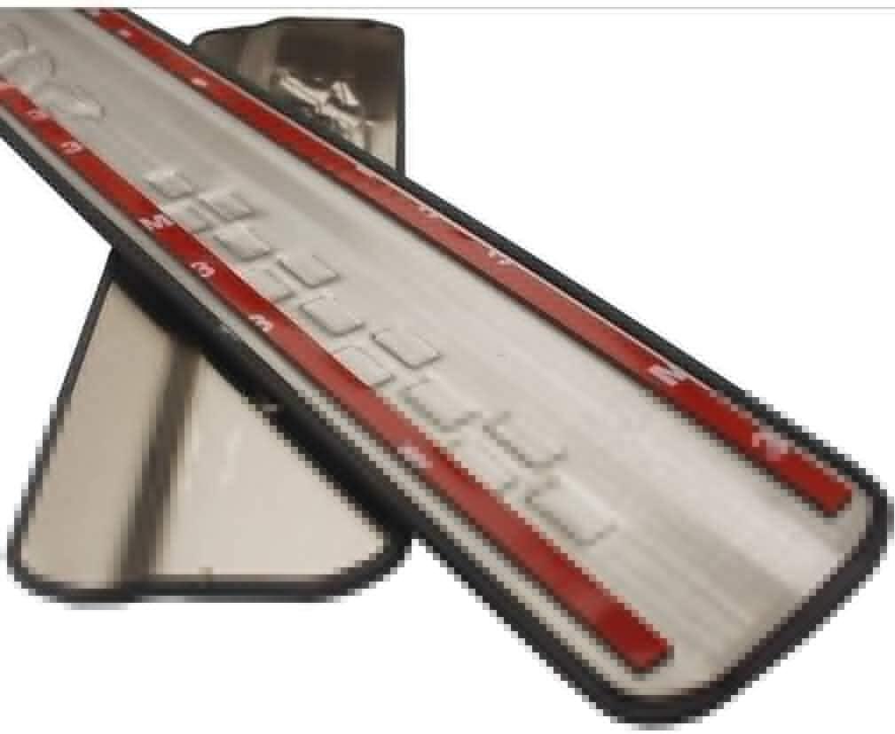 Anti-Kratz-Streifen f/ür Autot/ür Gemmry 4PCS Car Einstiegstrittschutzplatten Pedal for VOLVO XC60 2009 ~ 2017 Edelstahl-T/ürw/ächter Pedal-Abdeckungs-Schutz-Verschleiss-Platte Schutz Trim Aufkleber Styl