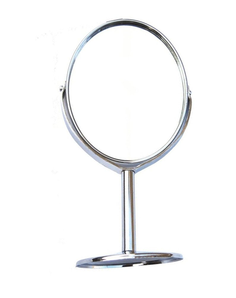 Interesting® Two-sided Vanity Mirror, Tabletop Swivel Makeup Mirror Boutique Mirror