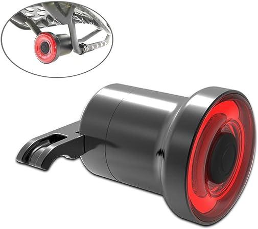 LayOPO Luz trasera de bicicleta, USB recargable encendido/apagado ...