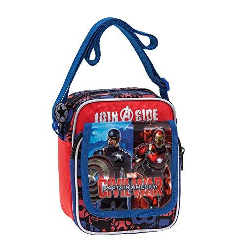 Marvel Civil War 2645551 Tracolla da Bambino, Civil War, 2.85 litri, Poliestere, Rosso