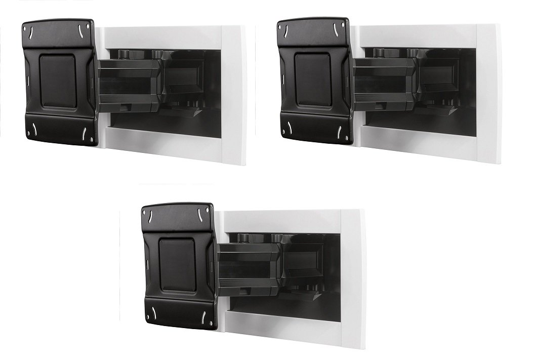 OmniMount OE120IW 42 to 80 Inches Recessed In-Wall TV Mount (Pack of 3)