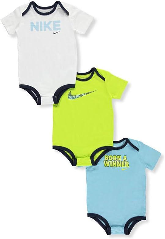 Nike - Pack de 3 bodies para bebé - - 3-6 meses: Amazon.es ...