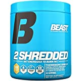 Beast Sports Nutrition, 2 Shredded Thermogenic Complex, Orange Mango, 10.23 Ounce