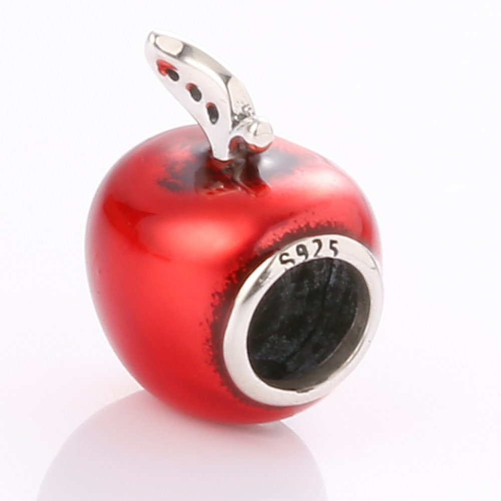 Christmas-Apple925-Sterling-Silver-Charms-Apple-with-Transparent-Red-Enamel-and-Canary-Yellow-Cz-Stone-Fits-European-Charms-Bracelet