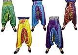 10Pcs Amazing India Rayon Ladies Chakra Design Baggy Harem Aladdin Pants Wholsale Lot