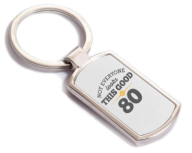 Amazon 80th Birthday 1939 Keychain For Men Women