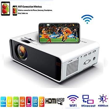 SOTEFE® Mini LED Proyector Portable 4500 Lumens: Amazon.es: Electrónica