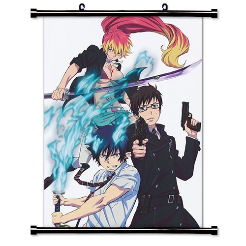 Blue Exorcist Anime Fabric Wall Scroll Poster  Inches