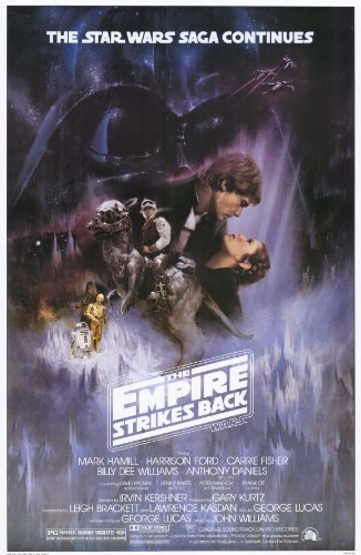 Movie Posters 11 x 17 The Empire Strikes ()