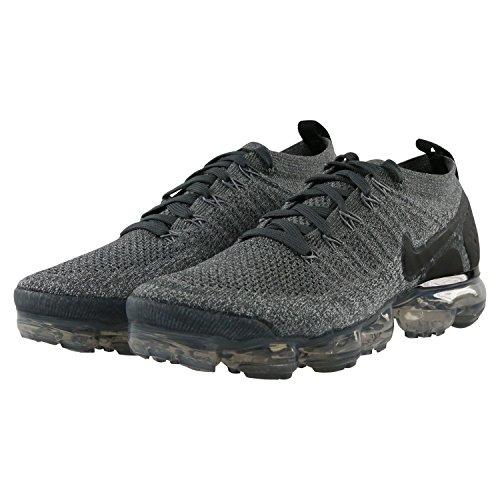 Talla Grey Compétition Dark Vapormax Air Chaussures Flyknit Running Wolf Black Black Homme 2 Única de Nike 002 Grey Multicolore xqz40Wa07