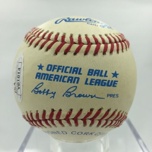 Beautiful Norm Cash Single Signed AL Baseball JSA LOA Detroit Tigers Auto