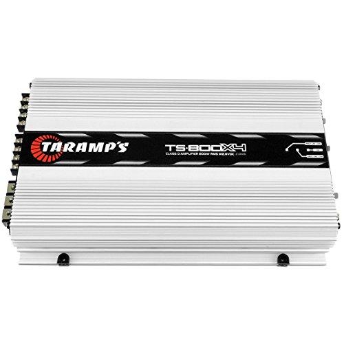 TARAMP'S TA-TS800x41OHM 4-Channels 800 Watts RMS Class D Power Amplifier