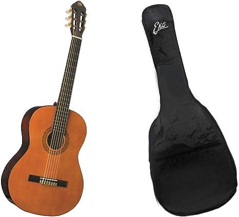EKO CS-10 Natural Cuerpo de 39 escalera 650 mm Guitarra Clásica 4 ...