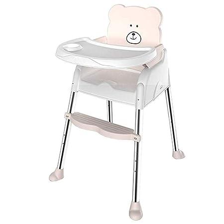 Gflyme Trona portátil for bebés y niños pequeños con arnés de 3 ...