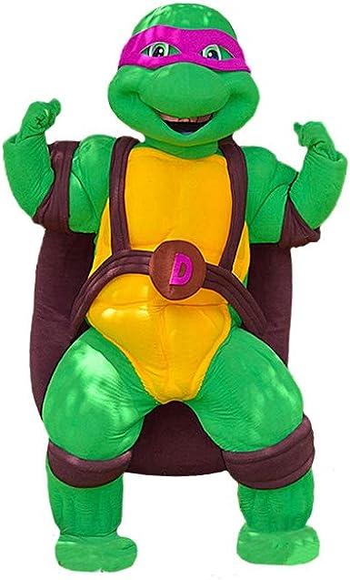 Amazon.com: Disfraz de Donatello de la tortuga Ninja morada ...