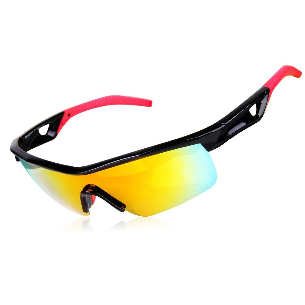 GARDOM Sunglasses for Kids, Polarized Glasses for Boys Girls Sports Sunglass Running Cycling Fishing Hiking