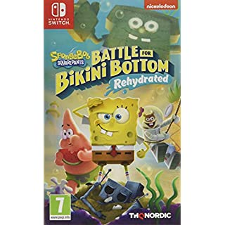 Spongebob SquarePants: Battle for Bikini Bottom - Rehydrated (Nintendo Switch) (Nintendo Switch)