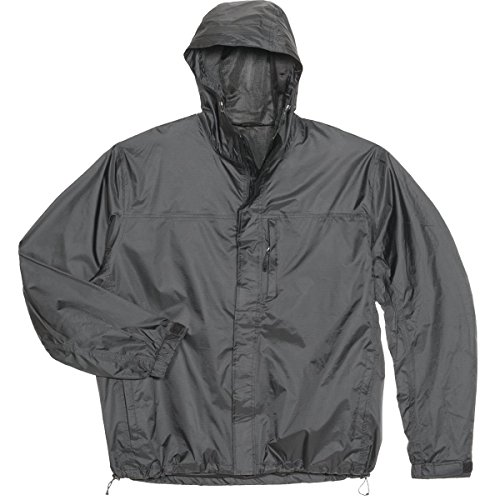 GEMPLER'S 214442 Packable Rip-Stop Rain Jacket, Black, Size 3XL by GEMPLER'S