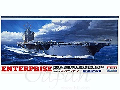 USS Aircraft Carrier Enterprise (CV-6) (Plastic model) Micro Ace(Arii) 1/400 Big Scale Battle Ship (japan import) by Micro Ace