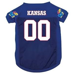 e4d38b844df85 Amazon.com : NCAA Kansas Jayhawks Pet Jersey, Small : Pet Dresses ...