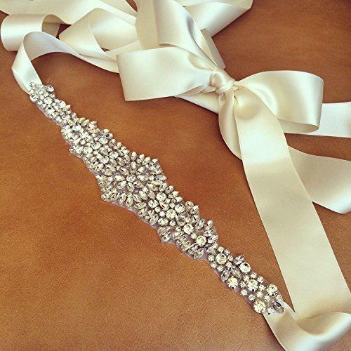 Wedding Bridal Crystal Rhinestone Jeweled