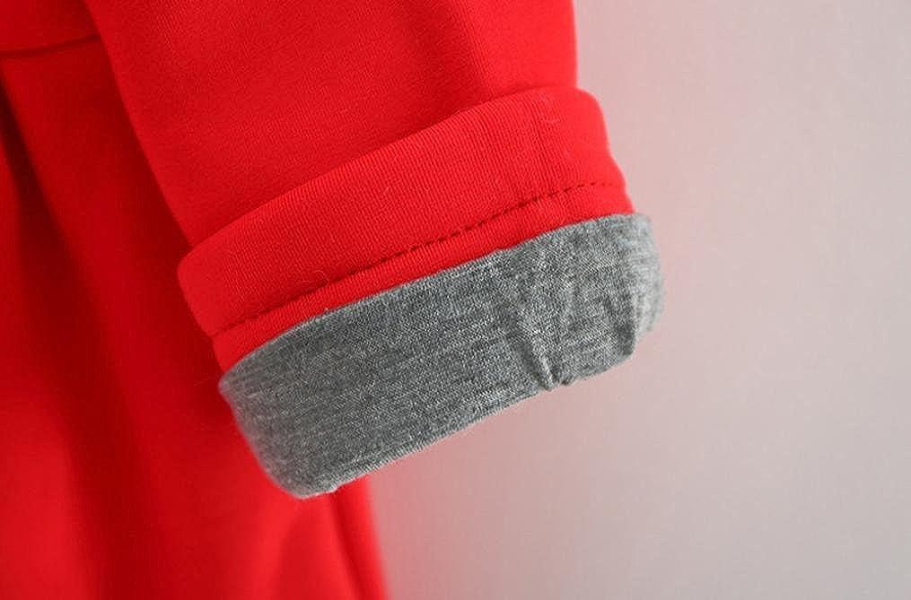 Kobay Baby S/äuglingsm/ädchen Winter Warmer Mantel Jacke dick Warme Kleidung