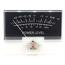 VU Meter DB Level Header Audio Power Amplifier Chassis Backlight TN90