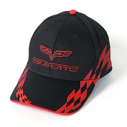 C6 Corvette Embroidered Bad Vette Hat/Cap (Red)