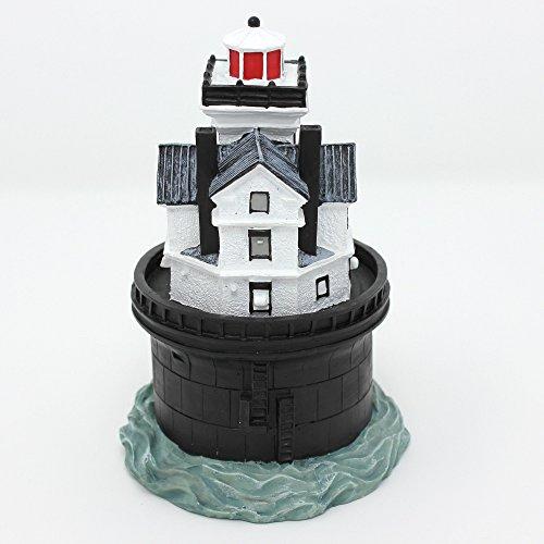 Scaasis Lighthouse Figurine - 14 Foot Bank, DE