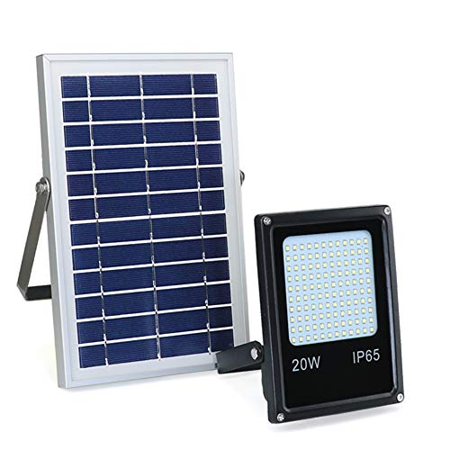 Solar Powered Flood Lights Outdoor, 120 LED Motion Sensor Solar Lights Dusk to Dawn, Radar Sensor Security Floodlight Waterproof for Driveway, Garage, Pathway, Yard, Garden