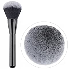Extra large, incredible soft powder brush. Allow for smoothing application of facial and bronzing powders. Great for quick full-face touches. Perfect for applying powder, blusher, bronzer and shimmer.