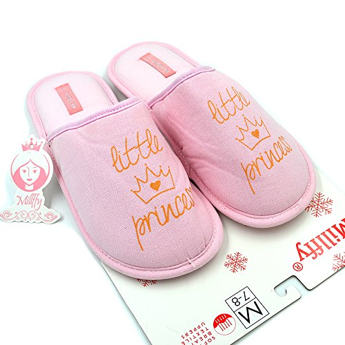 Millffy pour Millffy Femme Rose Chaussons Millffy Rose pour Femme Chaussons CvvXxZRqw