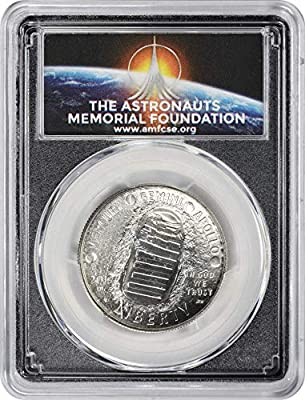 2019 D Apollo 11 50th Anniversary Half  Dollar PCGS MS70 FIRST STRIKE AMF LABEL