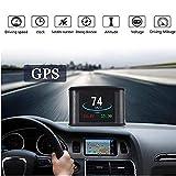 QianBao Car Head Up Display Universal Smart HUD GPS Navigation Compass Digital Metering Device & Digital