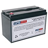 Werker WKDC12-100P 12V 100Ah Deep Cycle Battery - Insert Terminals
