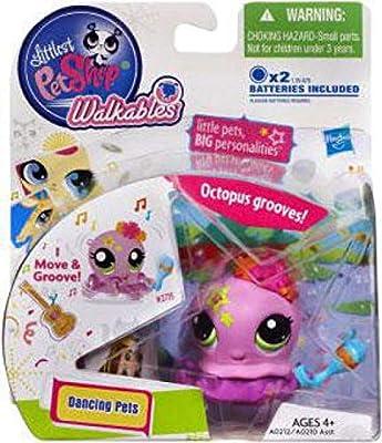 Hasbro Littlest Pet Shop Walkables Dancing Pets Octopus Figure