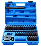 DASBET 50 Piece Custom Bushing Bearing & Seal Driver Set 18mm - 65mm