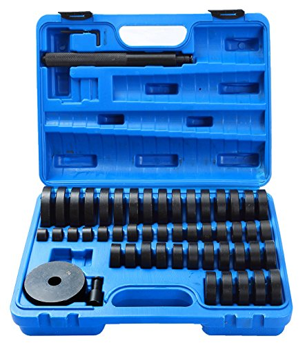 DASBET 50 Piece Custom Bushing Bearing & Seal Driver Set 18mm - 65mm ()
