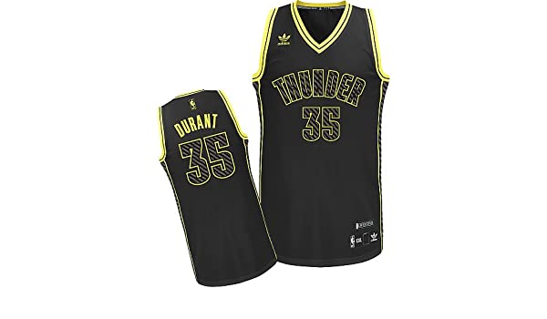 Amazon.com  Kevin Durant  35 Oklahoma City Thunder Adidas Neon Limited  Edition Swingman Jersey (Medium)  Clothing 7089e3de3