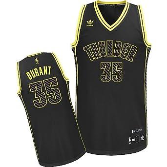 Kevin Durant  35 Oklahoma City Thunder Adidas Neon Limited Edition Swingman  Jersey (Medium) 9968a5d1f