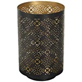 "Hosley's 8"" High Diamond Cut Candle Holder. Ideal GIFT for weddings, party, spa, reiki, meditation. P9"