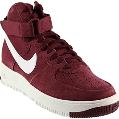 895d912a422a9 Nike Air Force 1 Ultraforce High Men's Shoes Dark Team Red/Summit White  880854-