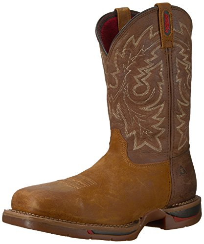 and Rocky Tobacco Rocky Mens Saddle Western Boot FQ0006132 Brown Mens fqUw7P8f