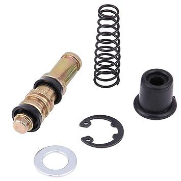 KIMISS 12.7mm Kits de reparación de pistón de la bomba de freno del embrague de la motocicleta con los accesorios de reparación de los aparejos de ...