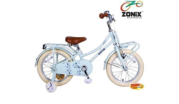 Zonix bicicleta holandesa para niña de pastel azul 16 pulgadas con ...