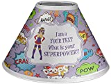 RNK Shops What is Your Superpower Coolie Lamp Shade (Personalized)