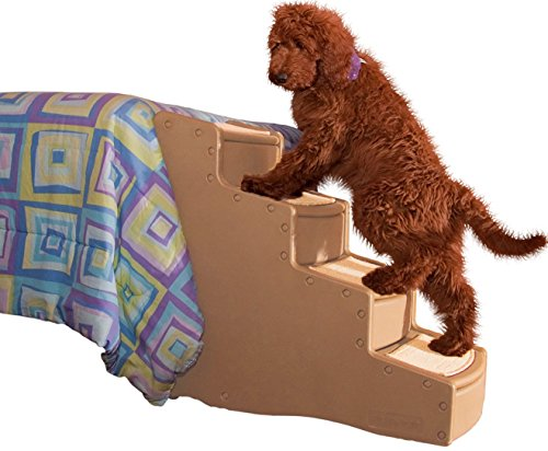 Pet Gear Easy Step IV Pet Stairs, 4-Step for Cats/Dogs, Portable/Lightweight, Sturdy ()