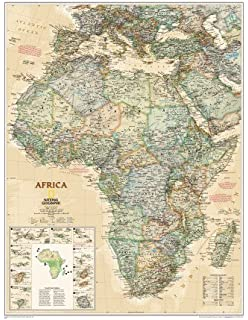 Educational historical world map poster xxl 140x100 cm amazon national geographic africa map executive style educational maxi poster print 61x79 cm gumiabroncs Images