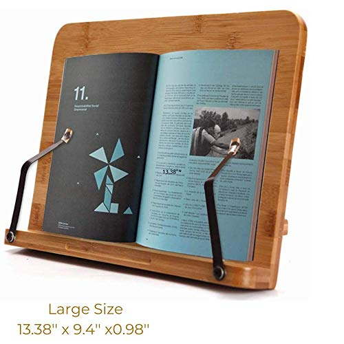 SUNFICON Large Cookbook Stand
